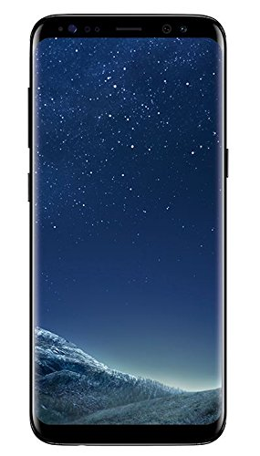 Samsung Galaxy S8 Smartphone, 5,8 Zoll, midnight black