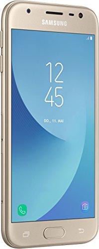Samsung Galaxy J3 Smartphone (5 Zoll), gold