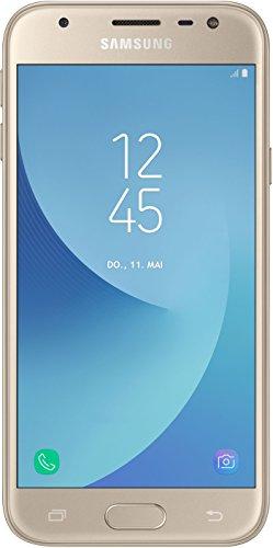 Samsung Galaxy J3 Smartphone (12,67 cm (5 Zoll) Display, 16 GB Speicher, Android 7.0) gold - 2