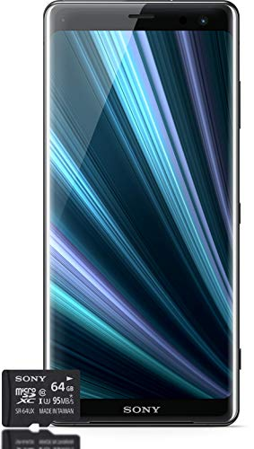 Sony Xperia XZ3 Smartphone Bundle, Black