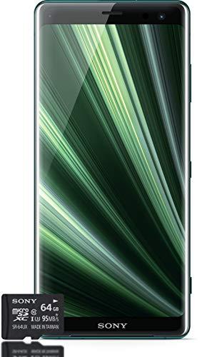 Sony Xperia XZ3 Smartphone Bundle, Forest Green