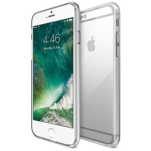 iPhone 6S 6 Hülle, FayTun iPhone 6 6S Schutzhülle Case Silikon- Crystal Clear Ultra Dünn Durchsichtige Backcover Handyhülle TPU Case für iPhone 6/6S (Transparent) - 2
