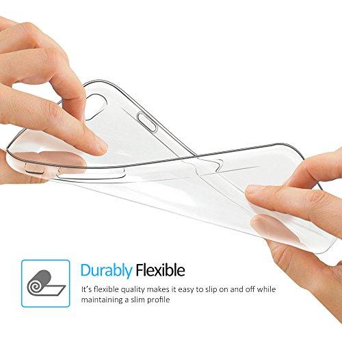 iPhone 6S 6 Hülle, FayTun iPhone 6 6S Schutzhülle Case Silikon- Crystal Clear Ultra Dünn Durchsichtige Backcover Handyhülle TPU Case für iPhone 6/6S (Transparent) - 5