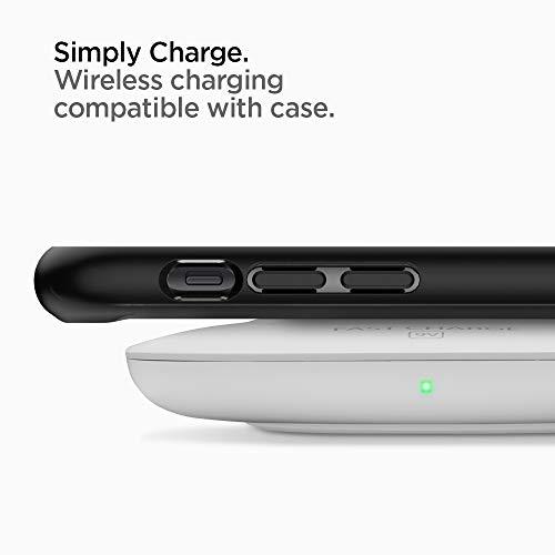 Spigen Ultra Hybrid, iPhone XR Hülle, 064CS24874 Einteilige Transparent Handyhülle Durchsichtige PC Rückschale mit Silikon Bumper Schutzhülle Case (Matte Black) - 2