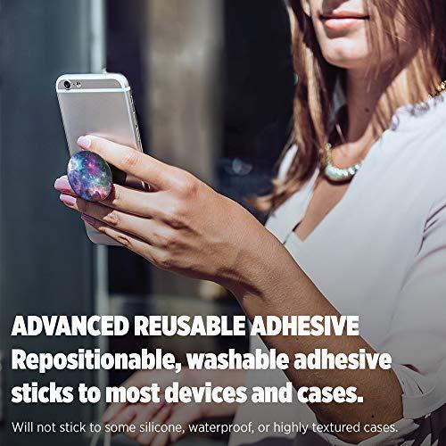 PopSockets: Ausziehbarer Sockel und Griff für Smartphones und Tablets - Blue Nebula - 4