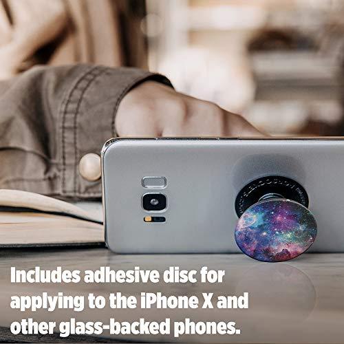 PopSockets: Ausziehbarer Sockel und Griff für Smartphones und Tablets - Blue Nebula - 5