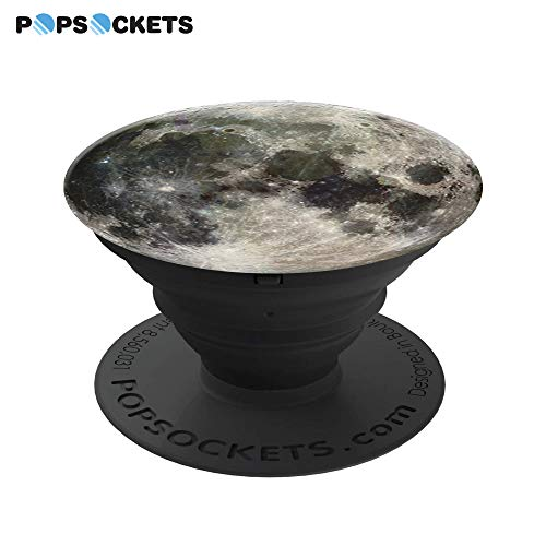PopSockets: Collapsible Grip & Stand for Phones and Tablets - Moon - 3