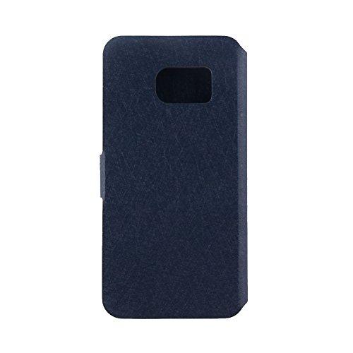 ele ELEOPTION Eleoption® Smartphone Schutzhülle Leder Hülle mit Standfunktion und Karte Halter (Samsung Galaxy S7 5,1