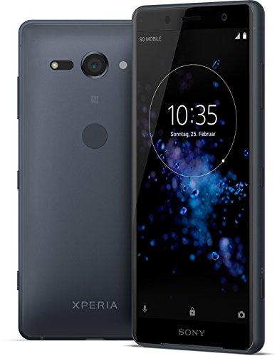 Sony Xperia XZ2 Compact Smartphone (12,7 cm (5,0 Zoll) IPS Full HD+ Display, 64 GB interner Speicher und 4 GB RAM, Dual-SIM, IP68, Android 8.0) Black - Deutsche Version - 2