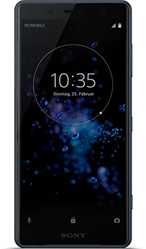 Sony Xperia XZ2 Compact Smartphone (12,7 cm (5,0 Zoll) IPS Full HD+ Display, 64 GB interner Speicher und 4 GB RAM, Dual-SIM, IP68, Android 8.0) Black - Deutsche Version - 4