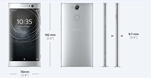 Sony XPERIA XA2 Smartphone (13,2 cm (5,2 Zoll) Full HD Display, 32 GB Speicher, 3 GB RAM, Android 8.0) Schwarz - Deutsche Version - 5