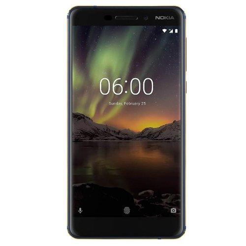Nokia 6 2018 64GB Dual-SIM ohne Vertrag blau