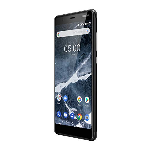 Nokia 5.1 Version 2018 Smartphone (13,97 cm (5,5 Zoll) HD+ Dislplay, 16GB, 2GB RAM, 16MP Kamera, langlebiger Vollalurahmen, Android Oreo, Dual SIM, Amazon Edition inkl. Displayschutzfolie) schwarz - 3