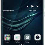 Huawei P9 Smartphone (13,2 cm (5,2 Zoll) Touch Display, 32GB interner Speicher, Android 6.0) grau